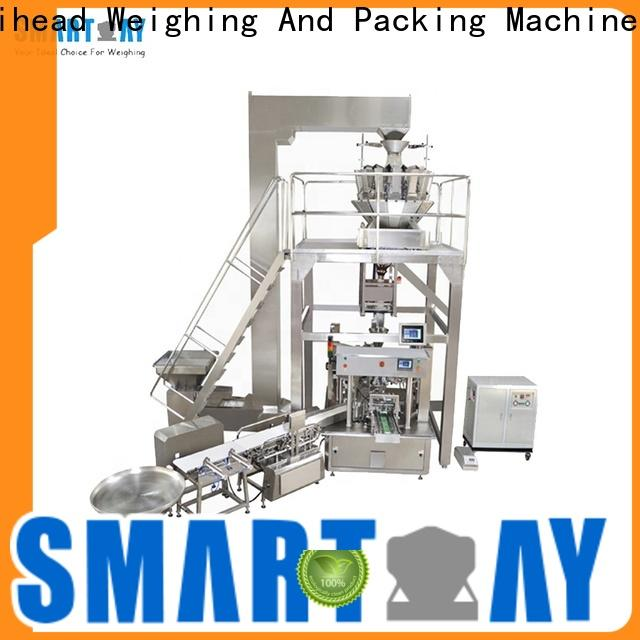 Smart Weigh pack premade food packing machine company for chips packing