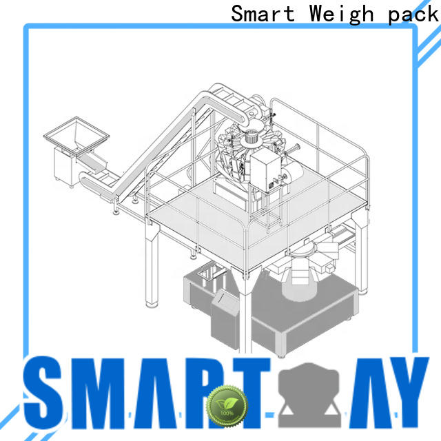 Smart Weigh pack smart full automatic packing machine manufacturers for food weighing