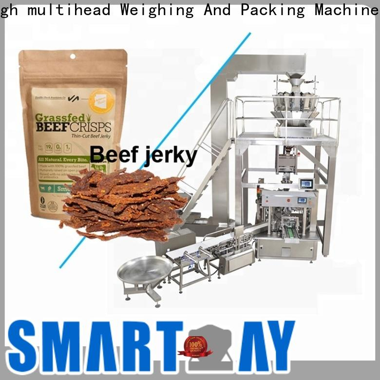 bag packaging machine weigher suppliers for meat packing