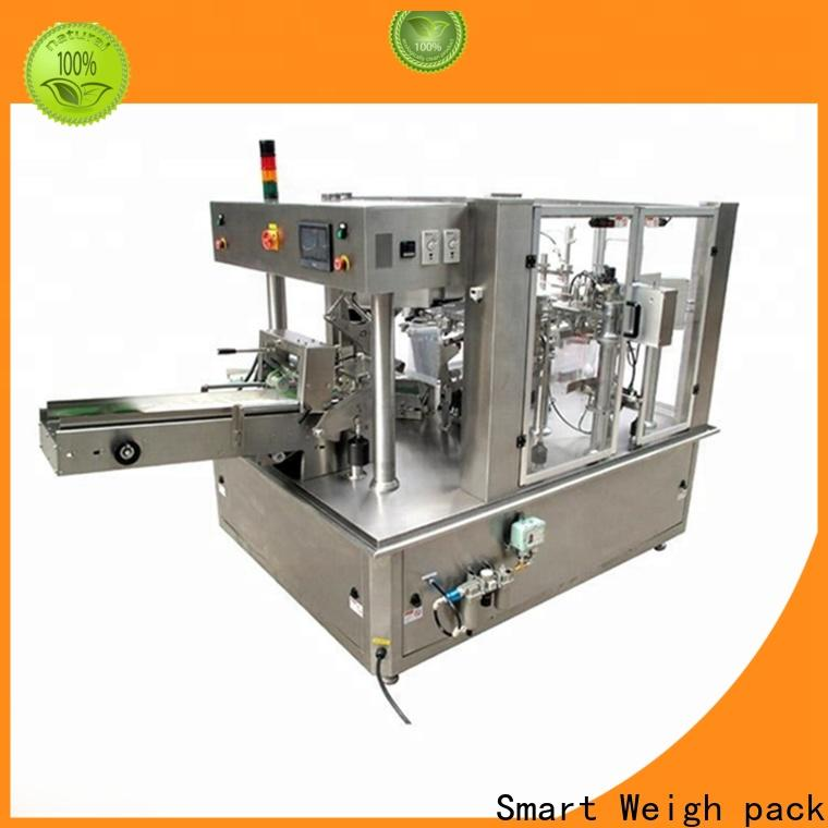 Smart Weigh pack automatic packaging machines manufacturers supply for food weighing