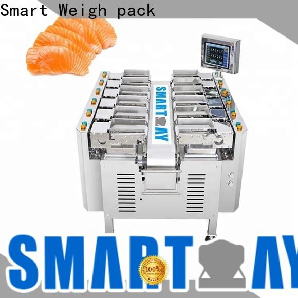 Smart Weigh pack easy-operating weigher machine at discount for foof handling