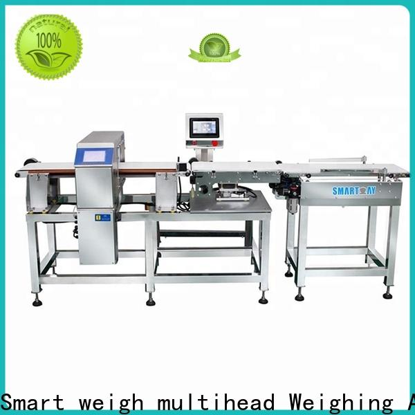top machine vision camera metaldetector factory price for food weighing