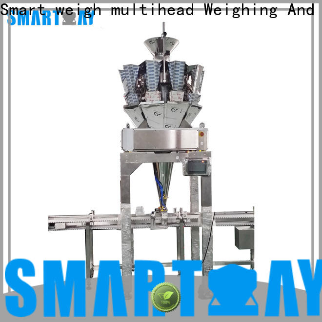 Smart Weigh pack top vertical form fill and seal machines supply for frozen food packing