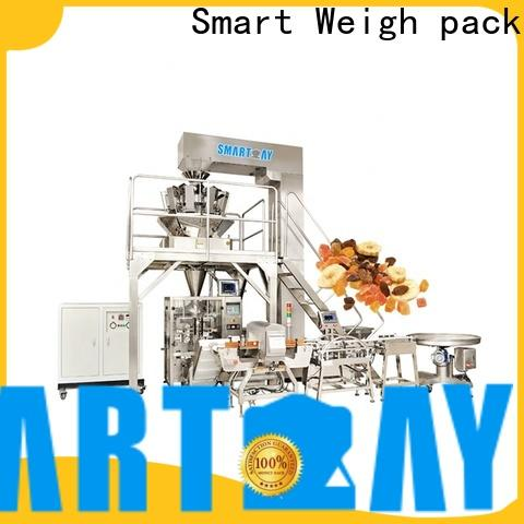 Smart Weigh pack line vertical packaging machine company for salad packing