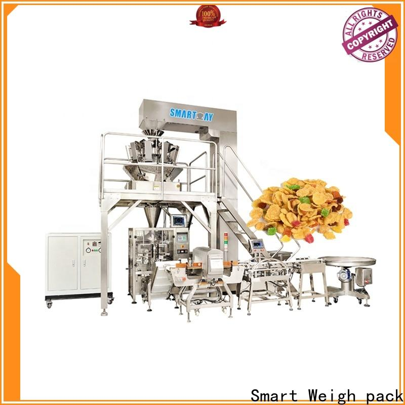 Smart Weigh pack cherry vertical form fill seal machine suppliers for salad packing