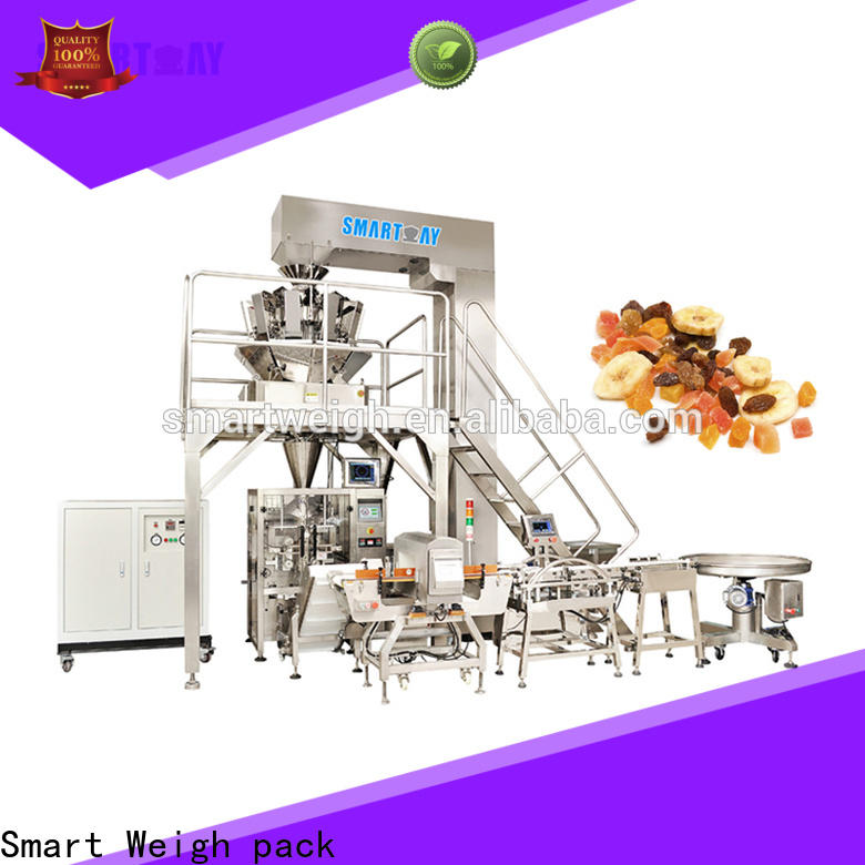 Smart Weigh pack speed pouch packing machine for salad packing