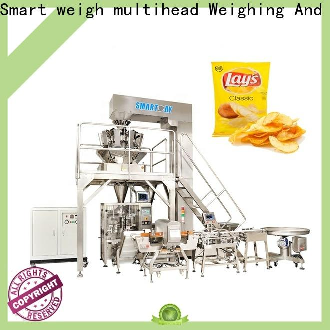 Smart Weigh pack 1kg pouch packing machine supply for frozen food packing