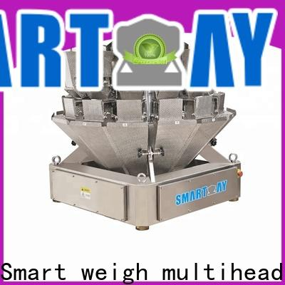 latest multihead weigher working waterproof for food packing