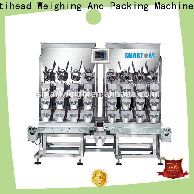Smart Weigh pack swlc18 linear weighers uk inquire now for food labeling