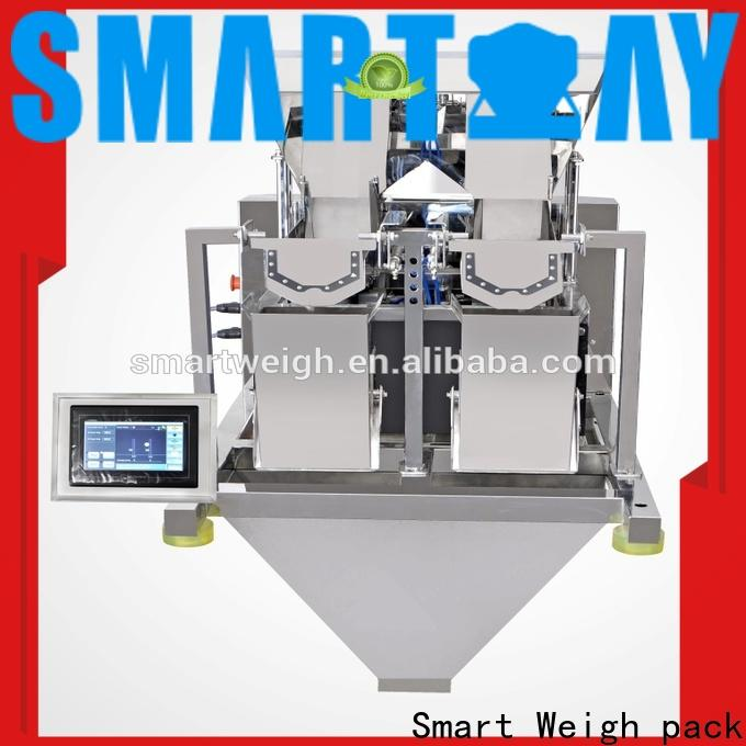 Smart Weigh pack eco-friendly linear weigher single head supply for food packing