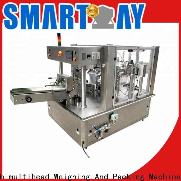 Smart Weigh pack head liquid packing machine customization for food weighing