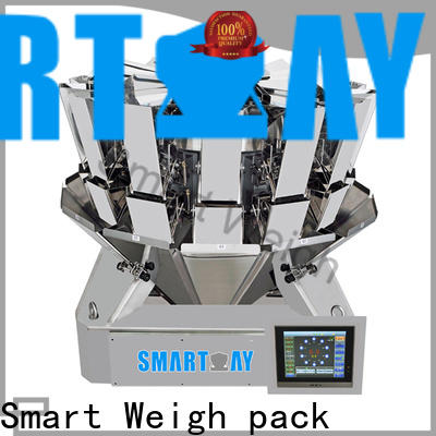 Smart Weigh pack inexpensive multihead checkweigher for food weighing