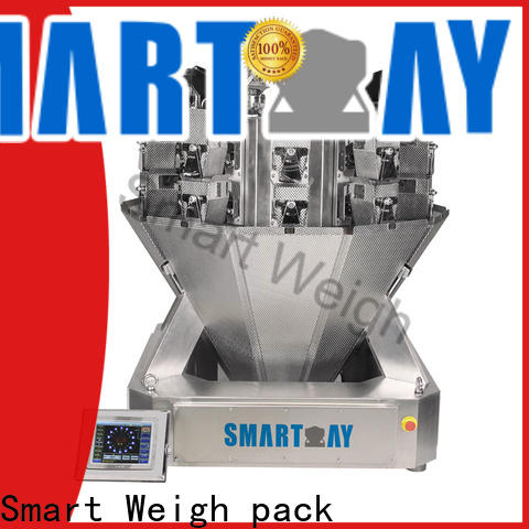 Smart Weigh pack into 14 head multi head combination weigher inquire now for food packing