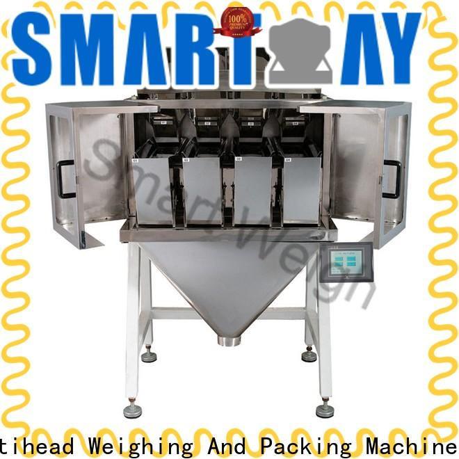 Smart Weigh pack seed linear head weigher for food labeling