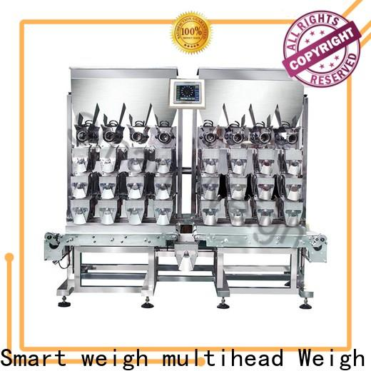 Smart Weigh pack swlc12v automatic combination weighers for foof handling