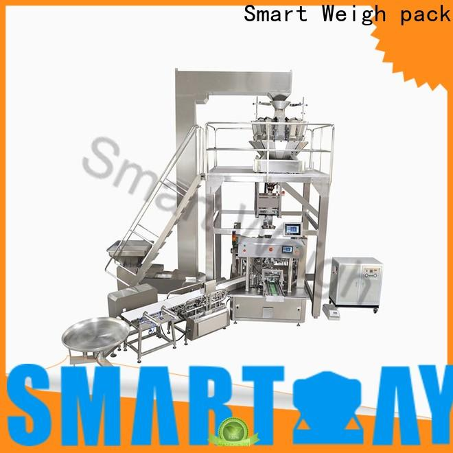 Smart Weigh pack steady automated packaging systems for food labeling
