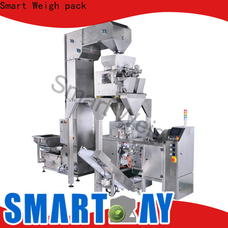 Smart Weigh pack best packaging automation systems with cheap price for food weighing