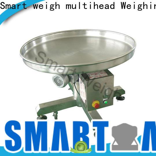 Smart Weigh pack food bucket conveyor factory price for food weighing