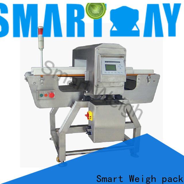 Smart Weigh pack best-selling conveyor belt metal detector manufacturers in bulk for food labeling