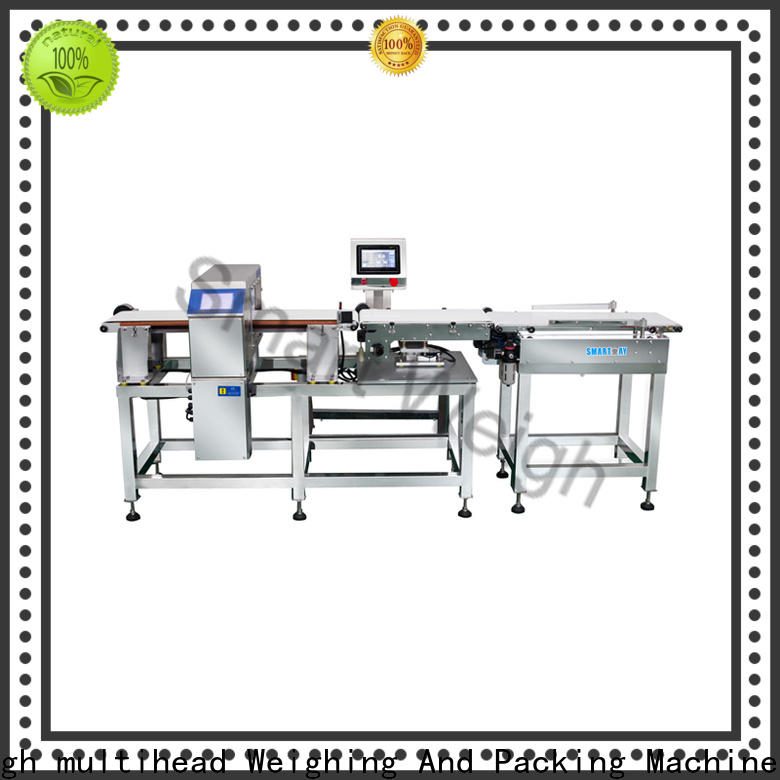 Smart Weigh pack best metal detector for bakery industry in bulk for food weighing