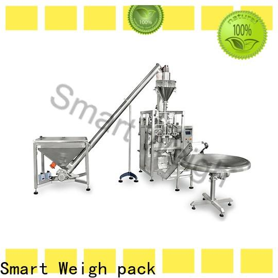 Smart Weigh pack top automatic vertical packing machine manufacturers for food weighing