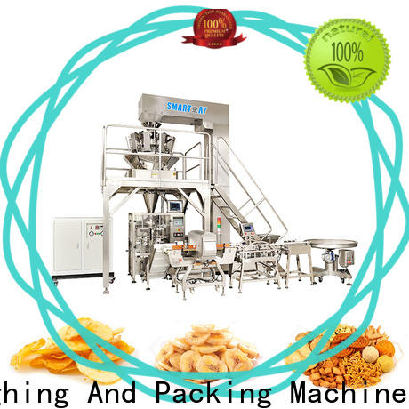 Smart Weigh pack swpl5 best packaging systems inquire now for food labeling