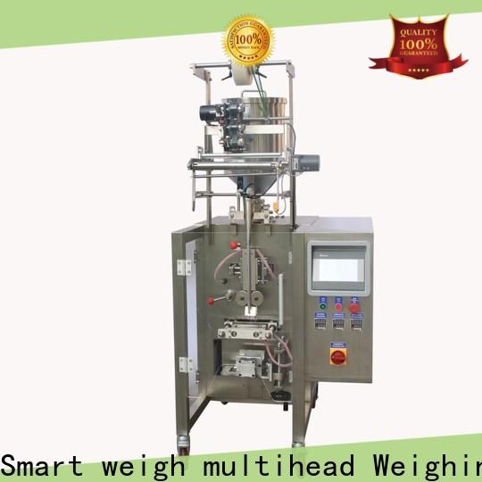 Smart Weigh pack weighing paper packaging machine supply for food labeling