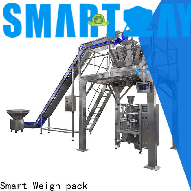Smart Weigh pack flakes vertical form fill seal machine manufacturers for chips packing