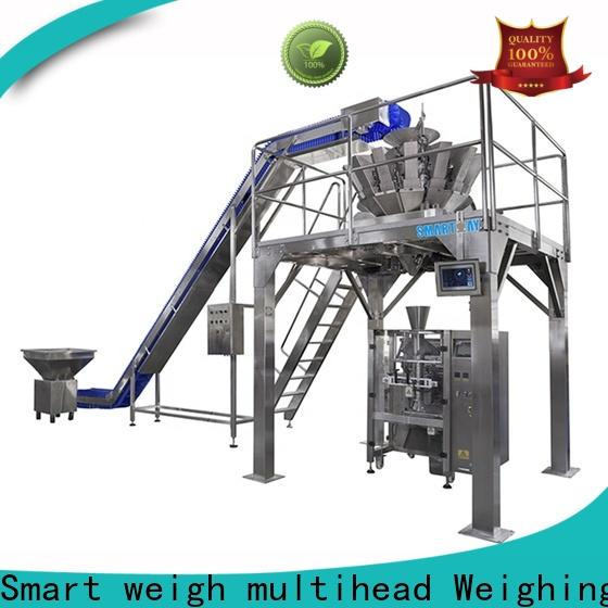 Smart Weigh pack snack food bagging machine in bulk for food weighing