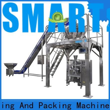 Smart Weigh pack first-rate wafer packaging machine with cheap price for food labeling