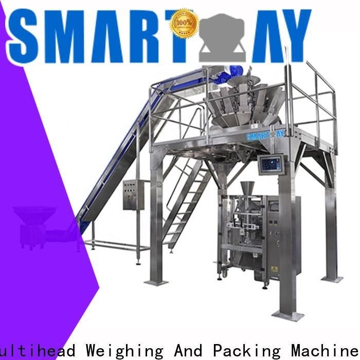 Smart Weigh pack kurkure sugar bagging machine customization for food labeling