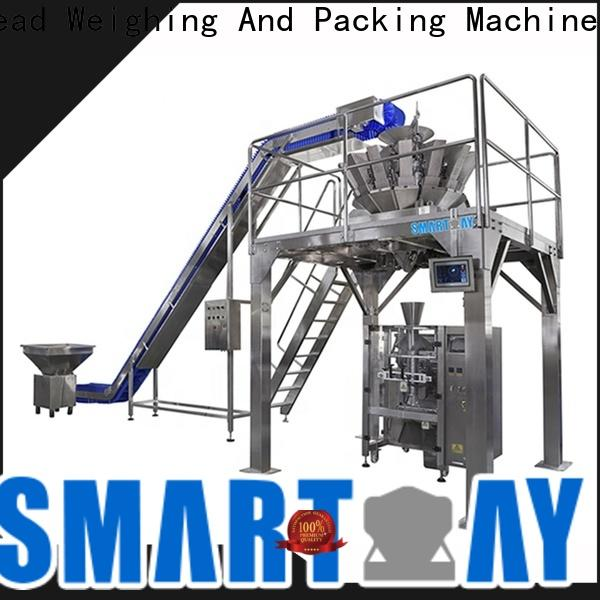 advanced pouch filling and sealing machine machinefor in bulk for food weighing