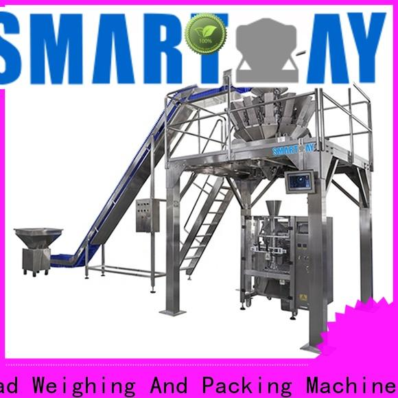 Smart Weigh pack combined horizontal packing machine manufacturers for food weighing