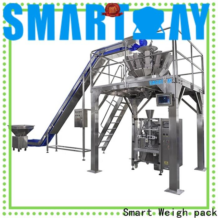 Smart Weigh pack snack automated packaging equipment for foof handling