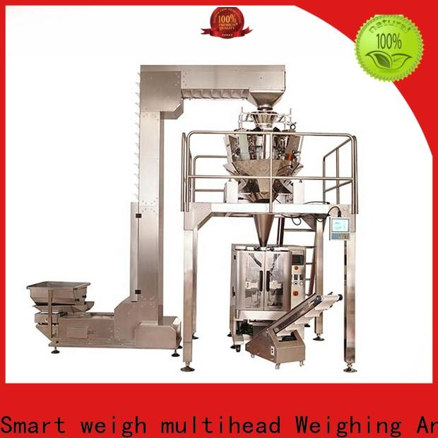 vial filling machine multihead for food weighing