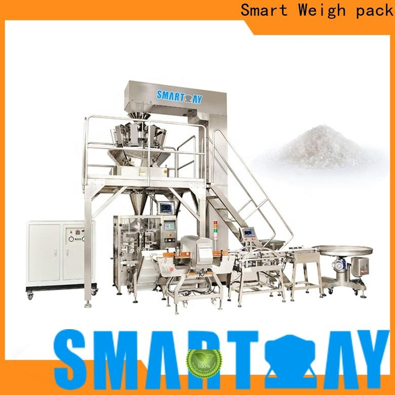 Smart Weigh pack scale flow packaging machine for business for food packing