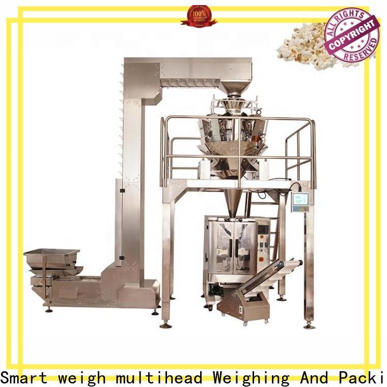 Smart Weigh pack seed sugar packaging machine price customization for foof handling