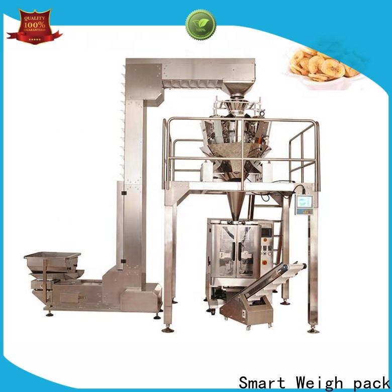 Smart Weigh pack salad bag machine price customization for food weighing