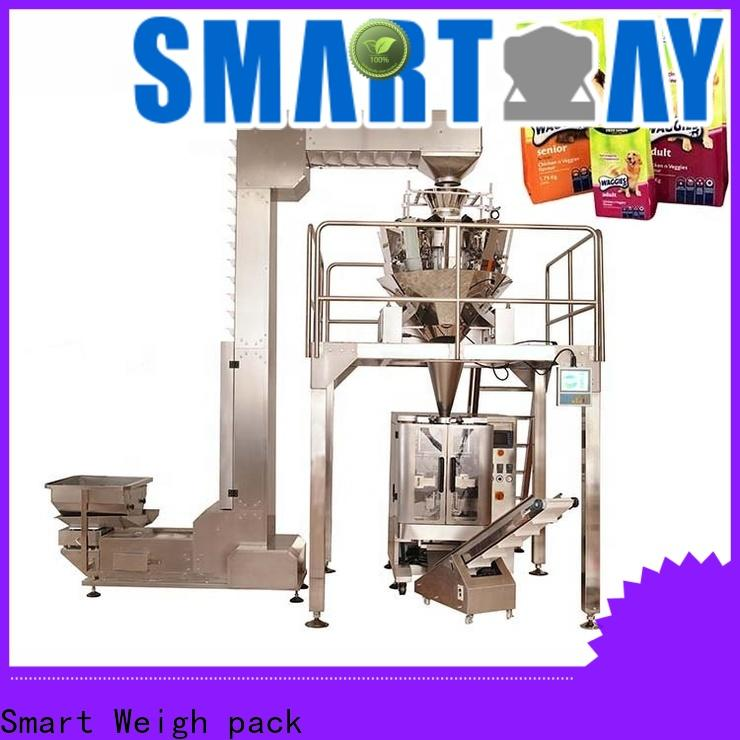 Smart Weigh pack sugar food packing machine company for food weighing