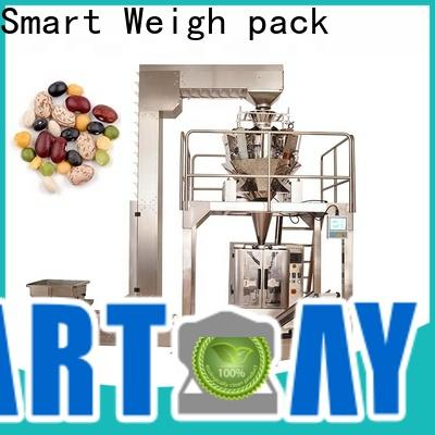 Smart Weigh pack garlic pillow packing machine factory for food packing