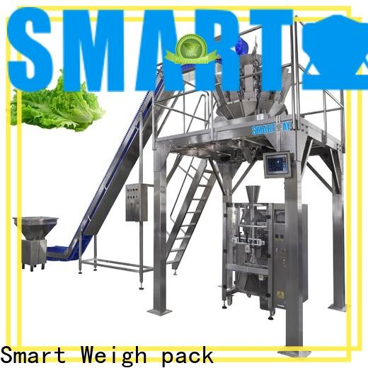 Smart Weigh pack seal automatic filling machine customization for food labeling