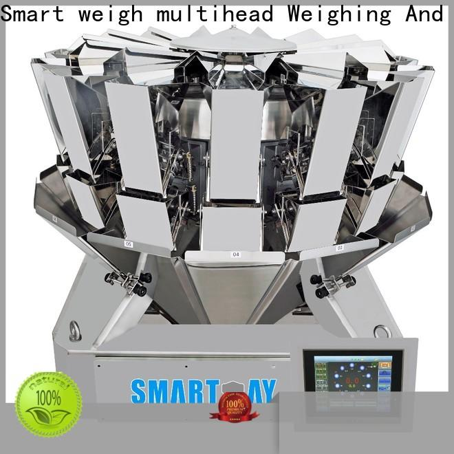 Smart Weigh pack linear multihead weigher factory for food labeling