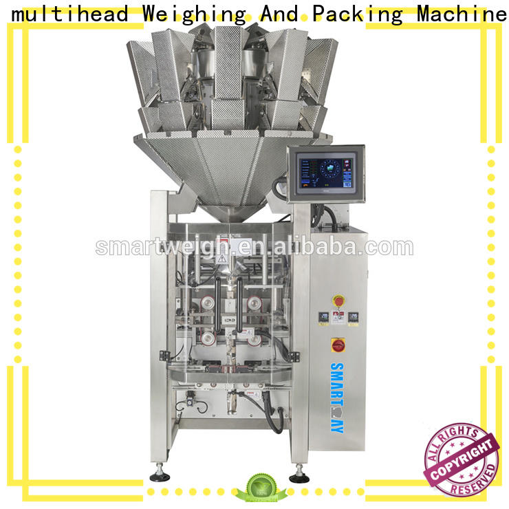 Smart Weigh pack excellent vertical form fill machine factory for frozen food packing