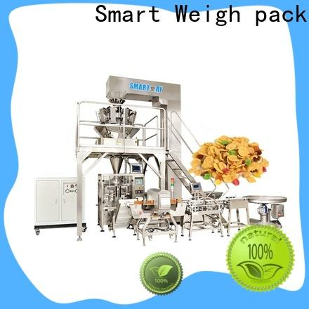 Smart Weigh pack top vertical filling machine suppliers for salad packing