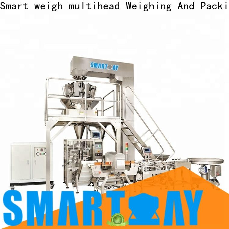 Smart Weigh pack vertical form fill seal packaging machines manufacturers for food packing