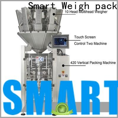 Smart Weigh pack box vertical packaging machine factory for meat packing
