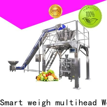 Smart Weigh pack top vertical form fill and seal machines for food weighing