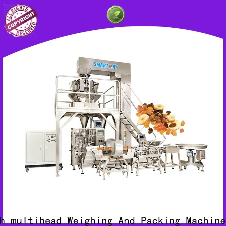 Smart Weigh pack high-quality vertical form fill and seal machines factory for food weighing