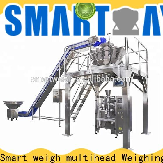 Smart Weigh pack cup vertical form fill and seal machines company for salad packing