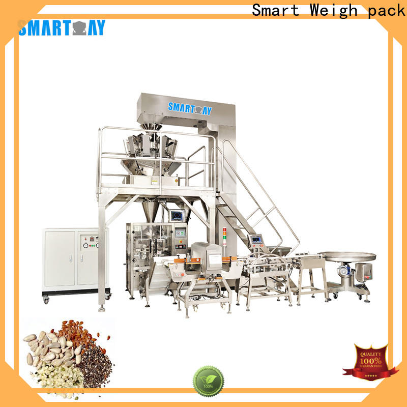Smart Weigh pack on seal packing machine for food weighing